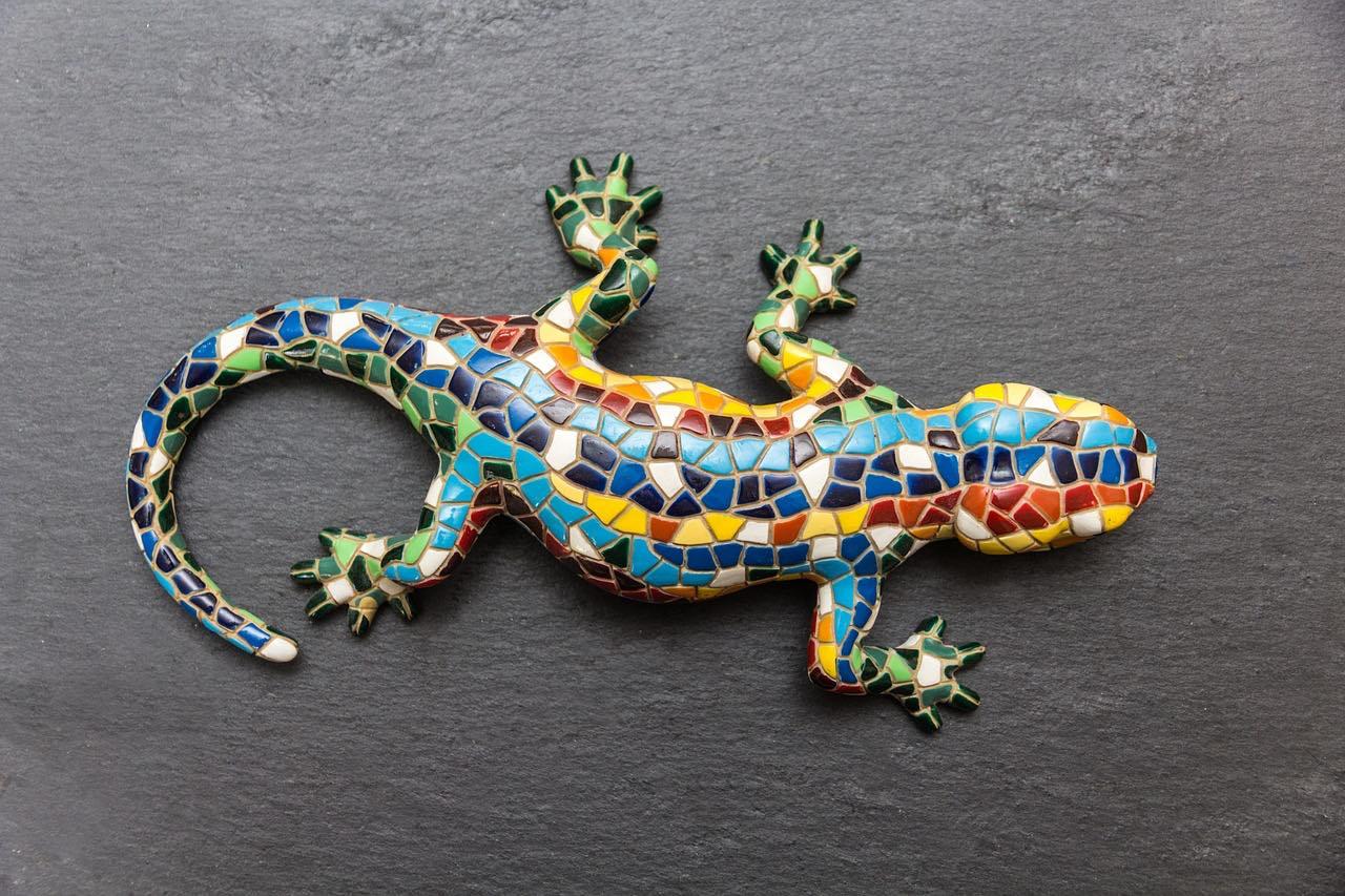 Gecko Mosaic Lizard_Souvenirs_PD