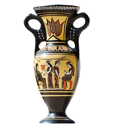 Greek Clay Pottery_Art_Amphora_PD