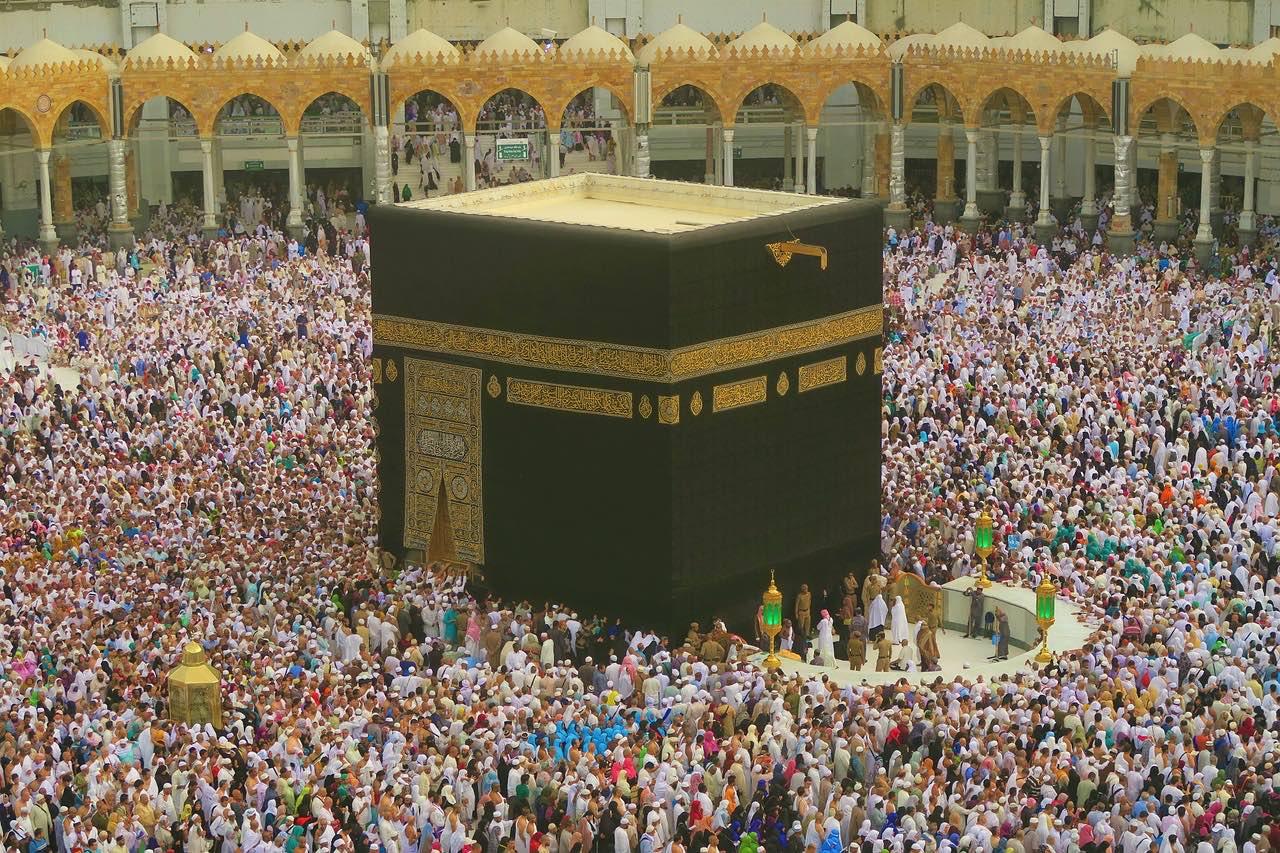 Kaaba_Mecca_Saudi Arabia_Islam_Pilgrimage_PD