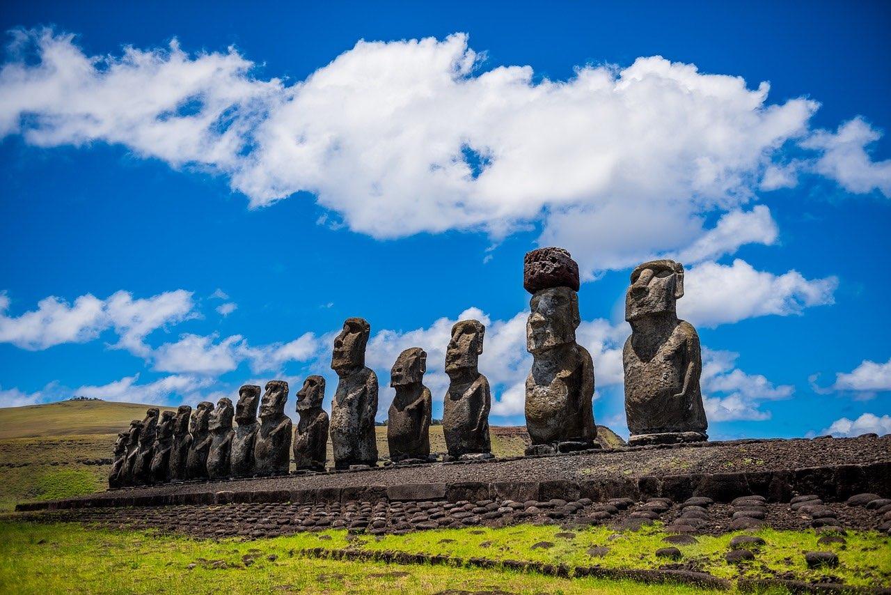 Moai Easter Island Rapa Nui_PD