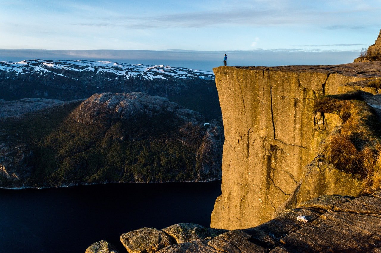 Preikestolen_cliffs of Norway_PD