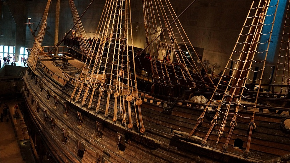 A 400 year old Ship at Vasa Museum_Stockholm_PD