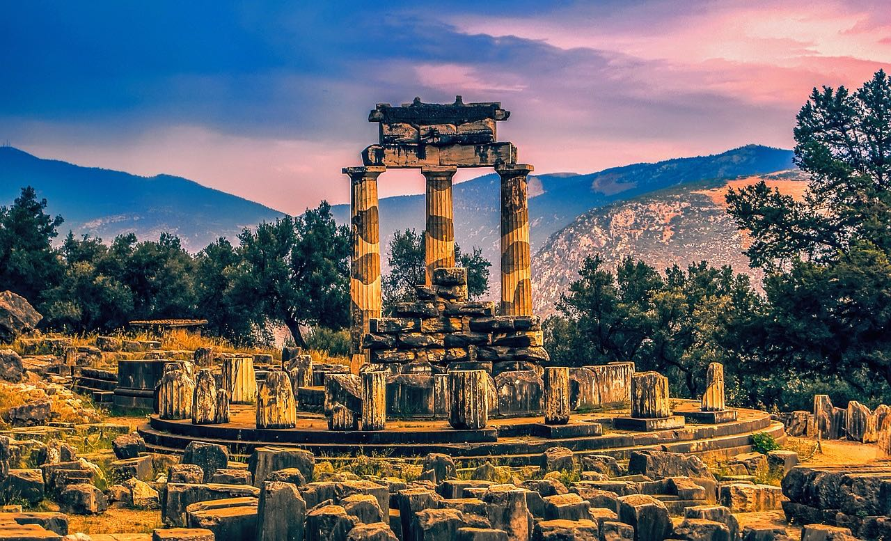 The Oracle at Delphi Greece_PD
