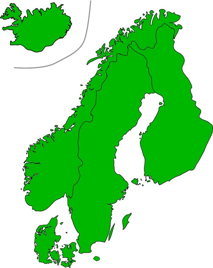 Map of Scandinavia_PD