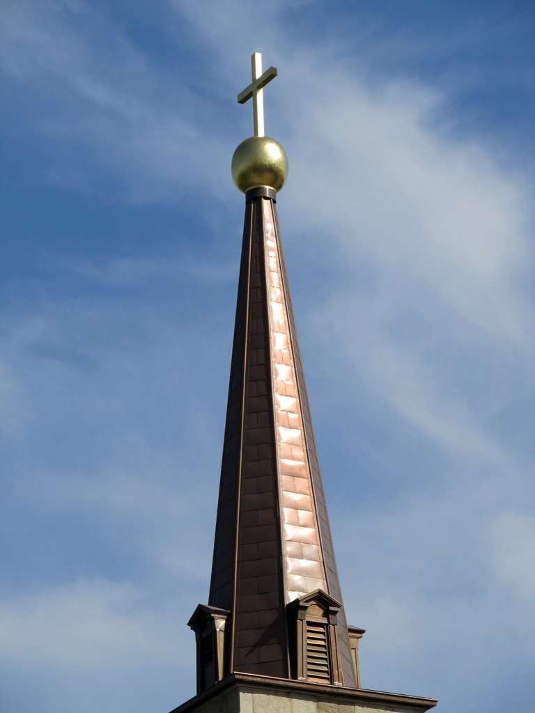 steeple-cross-church-building