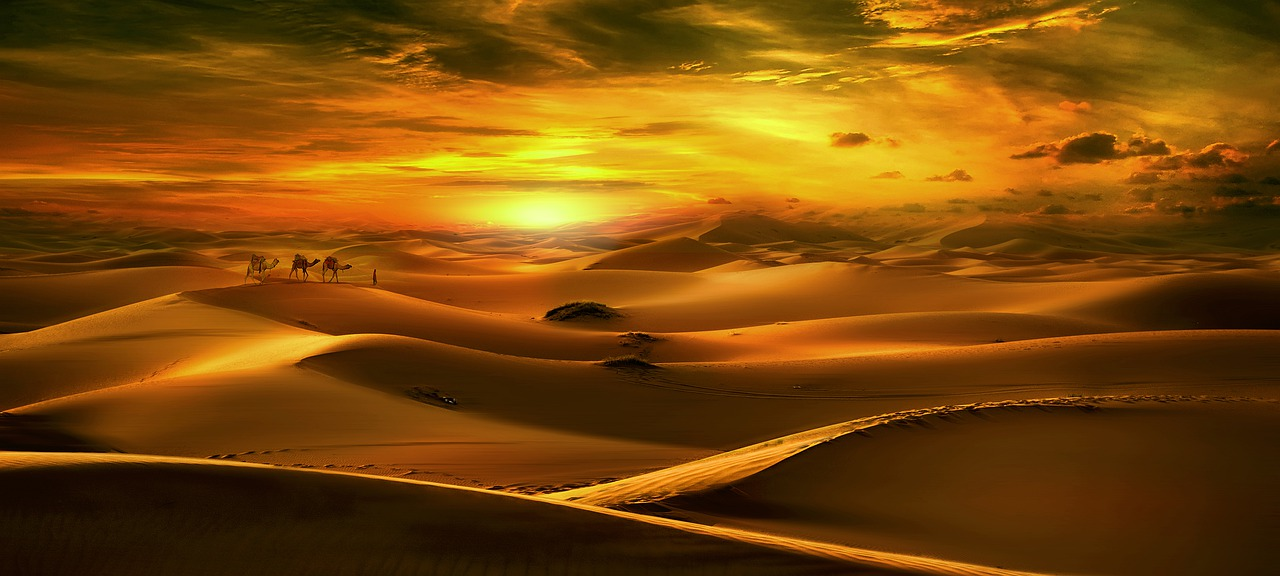 The beauty of the Sahara Desert_PD