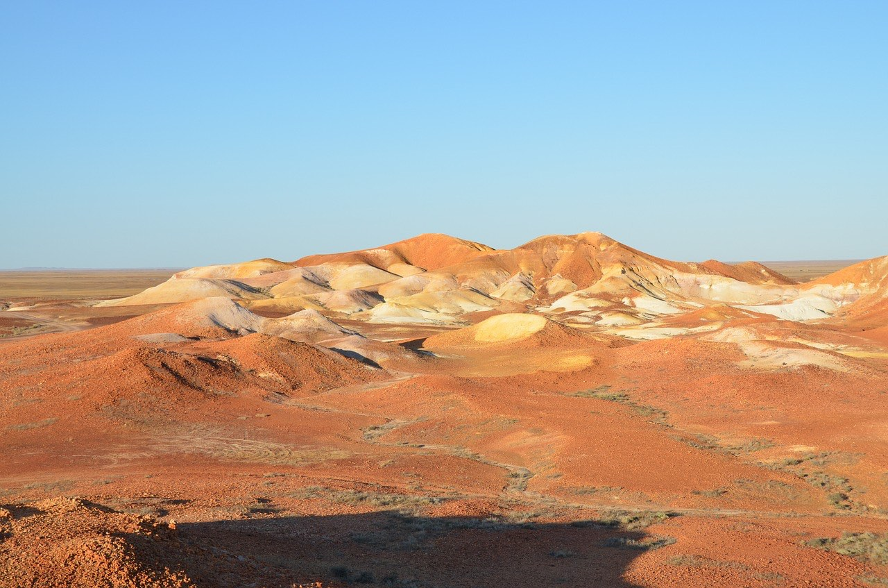 the Breakaways desert_Coober Pedy_Australia_PD