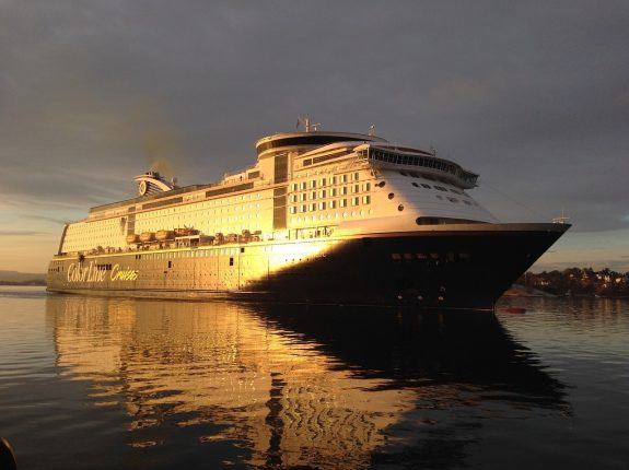 Cruise Ship_Oslo Harbour_Norway_PD