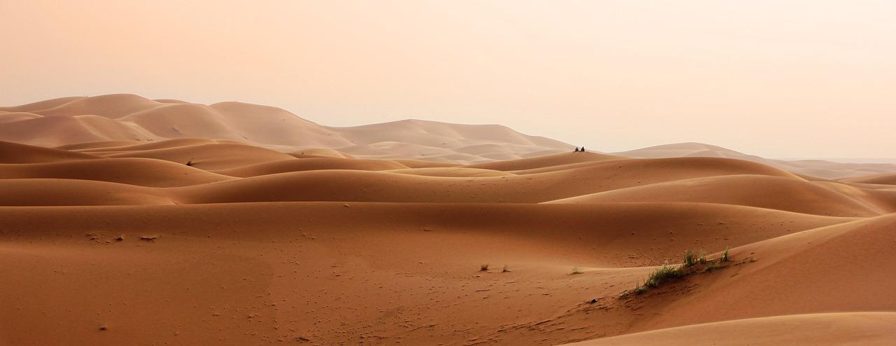 Sahara Desert_Morocco and Red Sand Dunes_PD