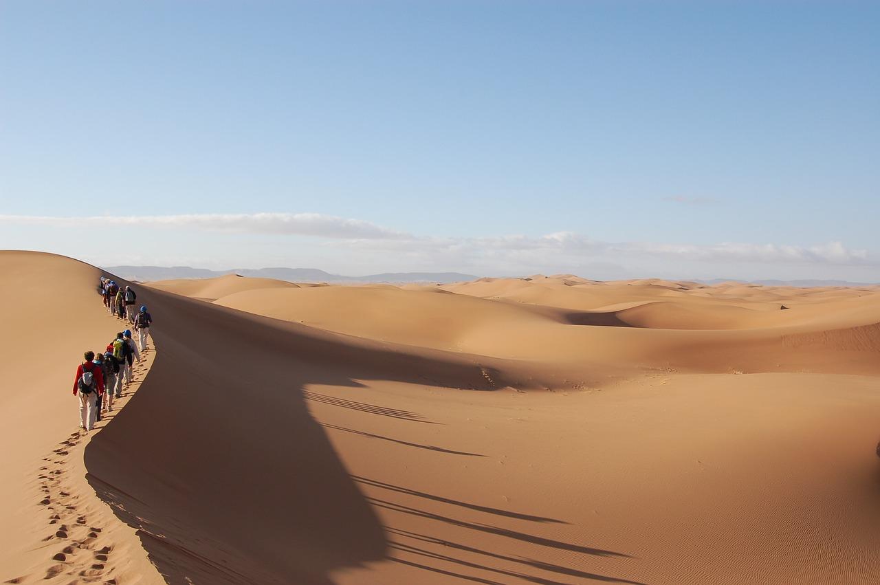 Sahara desert walking tour_Morocco_Africa_PD