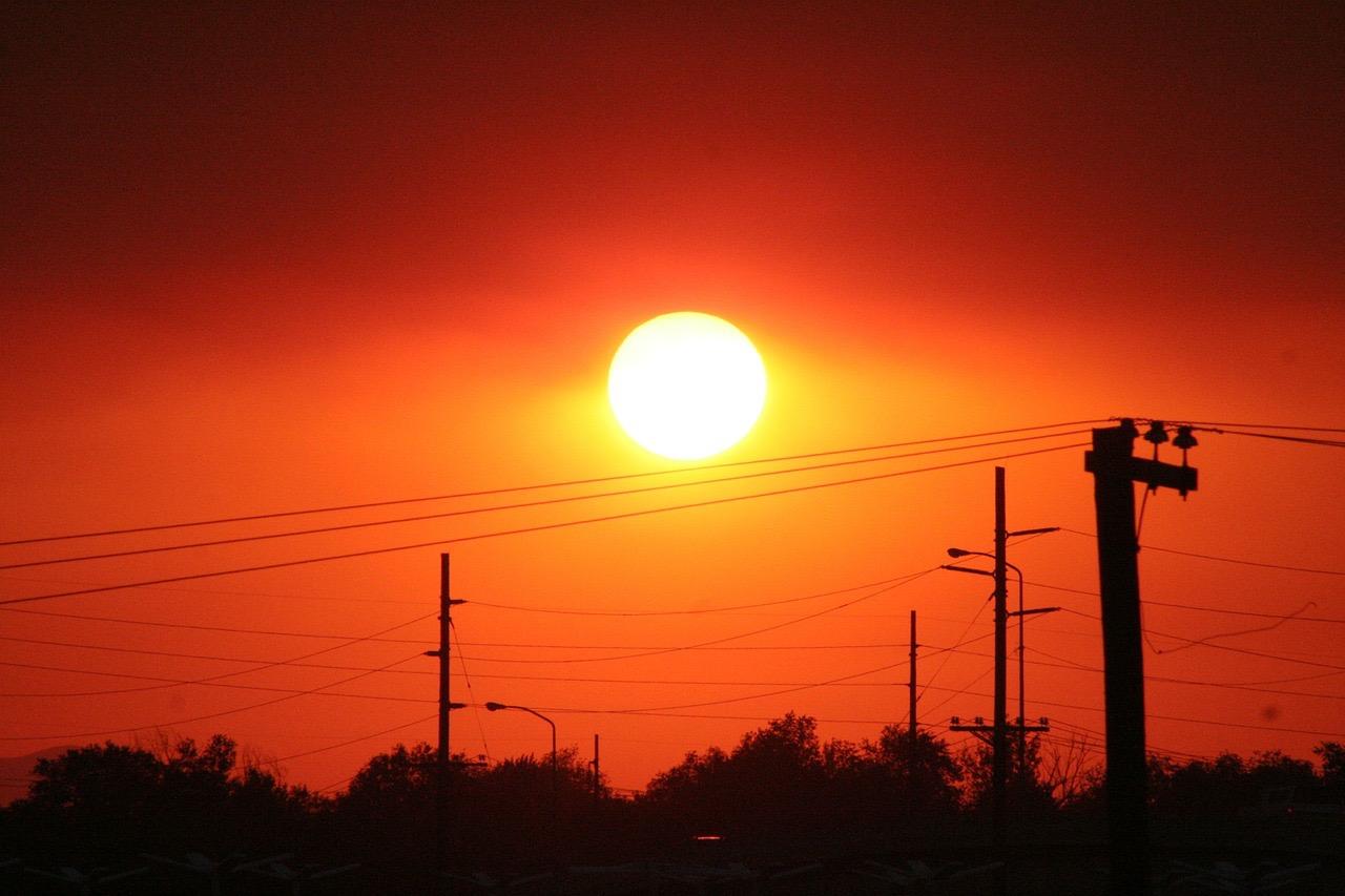 Sunset_Salt Lake City_Utah_USA_PD