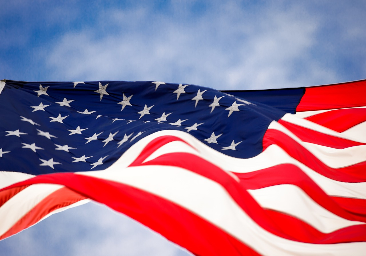 USA Flag_United States Flag_Visa Free Travel_PD