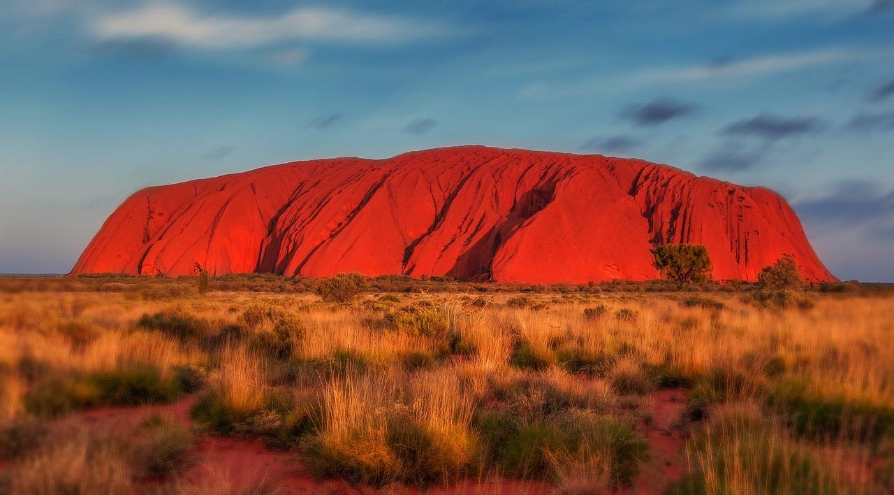 Uluru rock_Australia_PD
