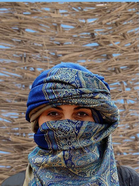 a native desert girl_PD