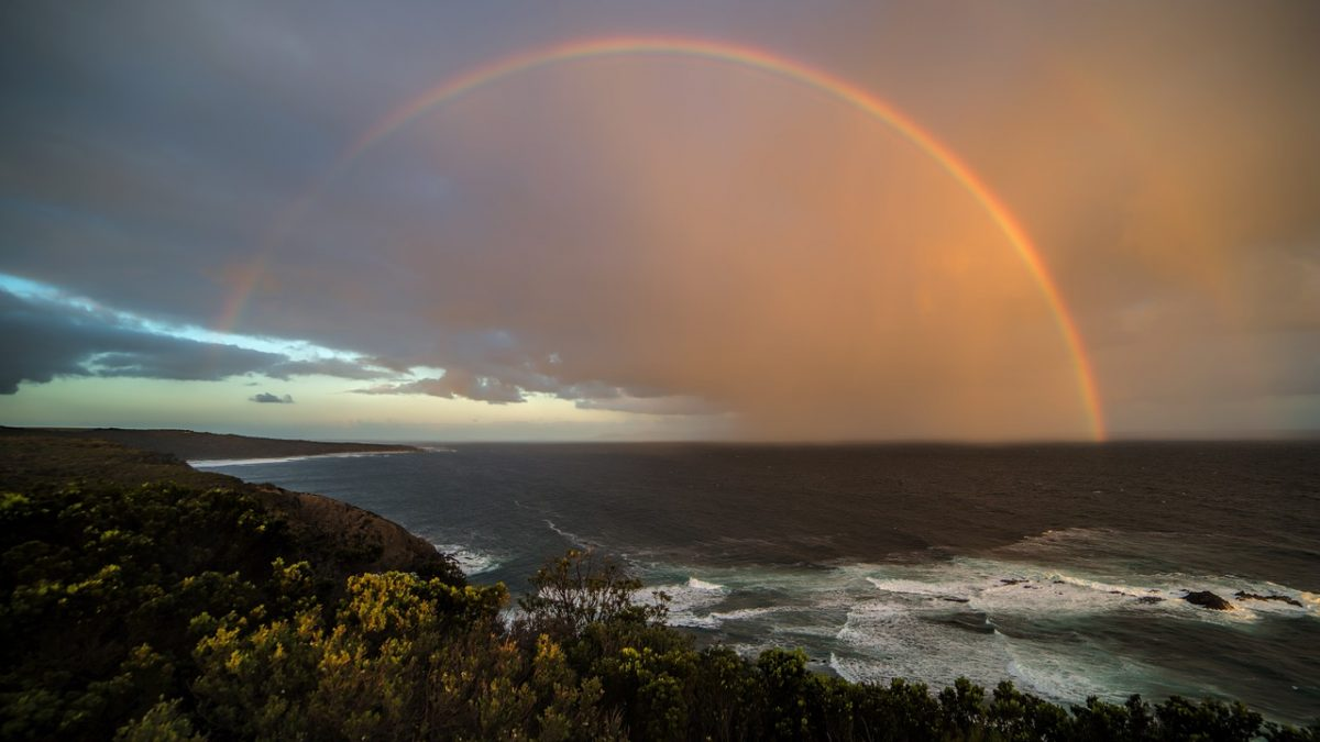 Rainbow coast_Australia_PD