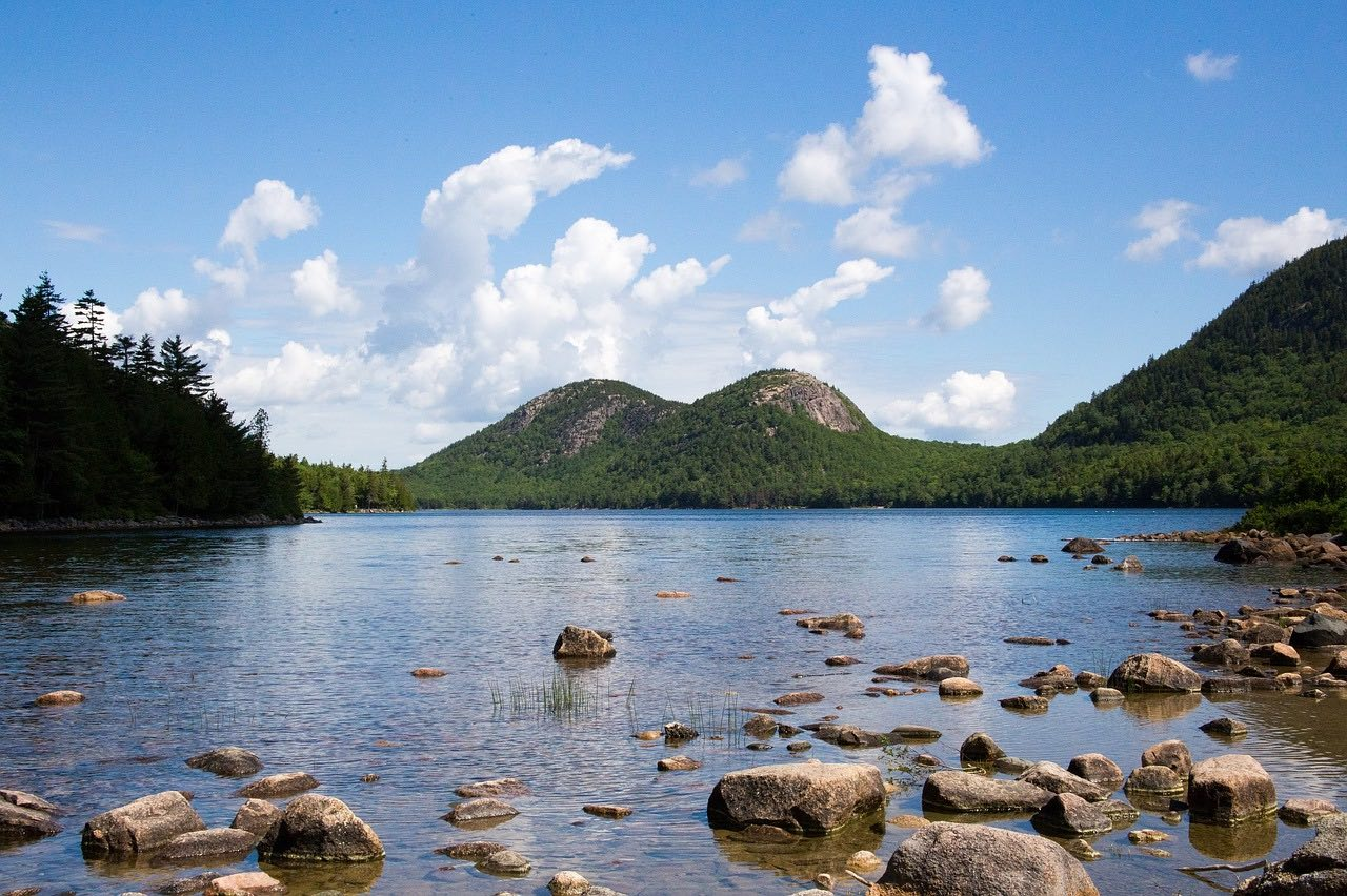 Jordan Pond_Acadia National Park Maine_PD