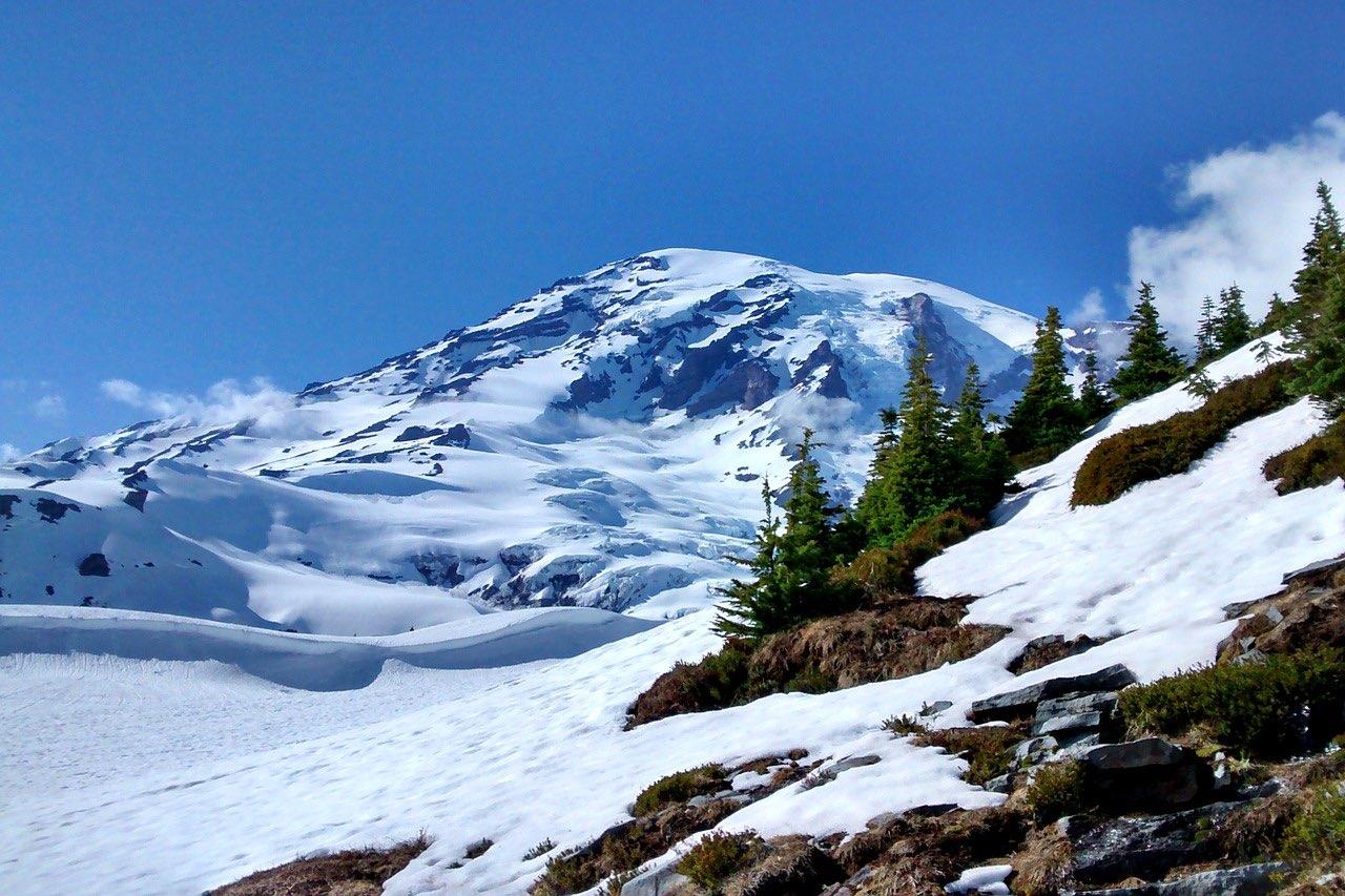 Mount Rainier National Park Washington_PD