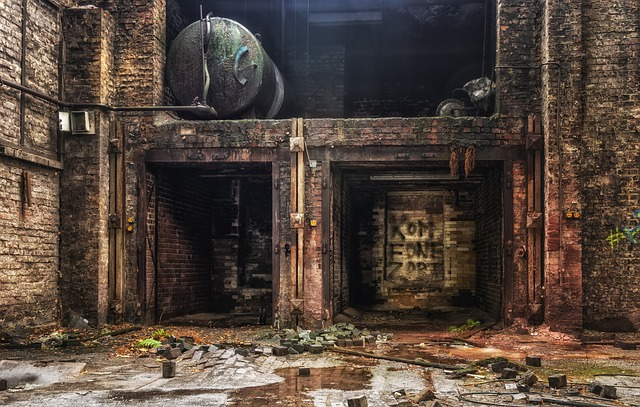 Abandoned factory Ruin_PD
