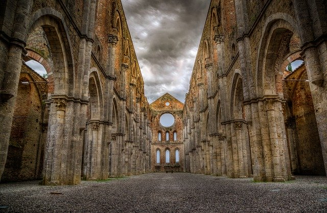 San Galgano Abbey Ruins_PD