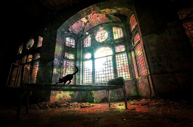 Urban ruin photo_PD