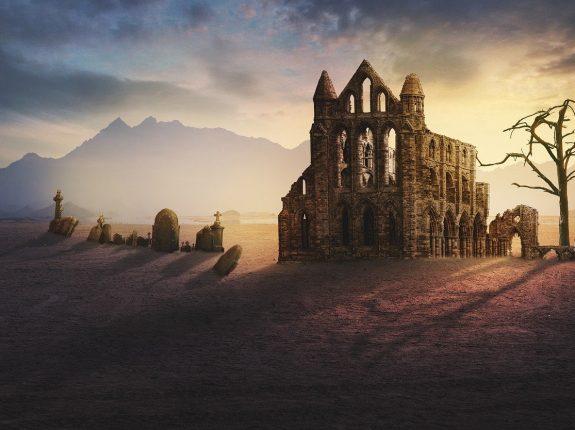 ruins photography_church_PD