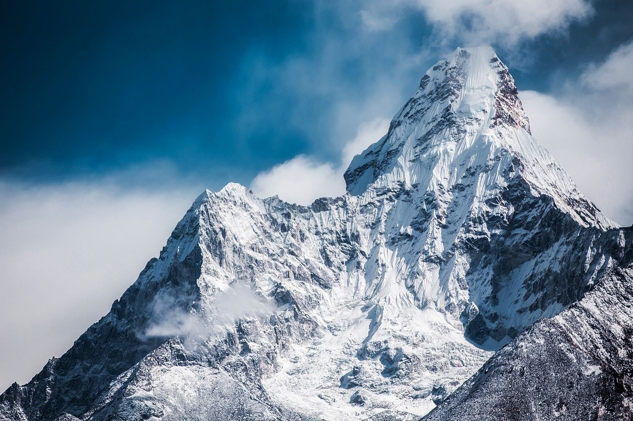 Ama Dablam_a Himalayan peak_Nepal_PD