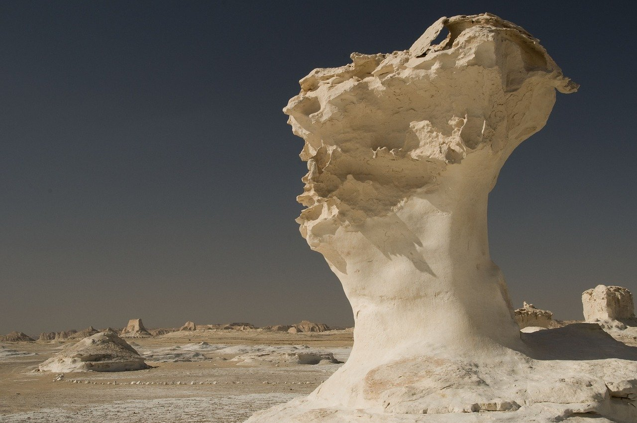 White Desert National Park_Egypt Africa_PD