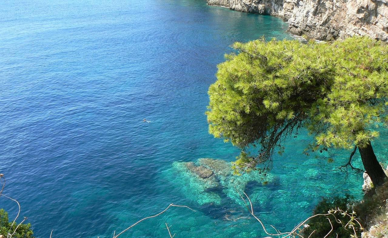 adriatic sea_croatia_blue lagoon_PD
