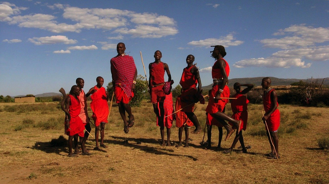 maasai tribe of Kenya_maasai jumping dance_PD