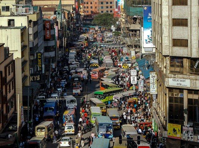 nairobi kenya street rushhour_Africa_PD