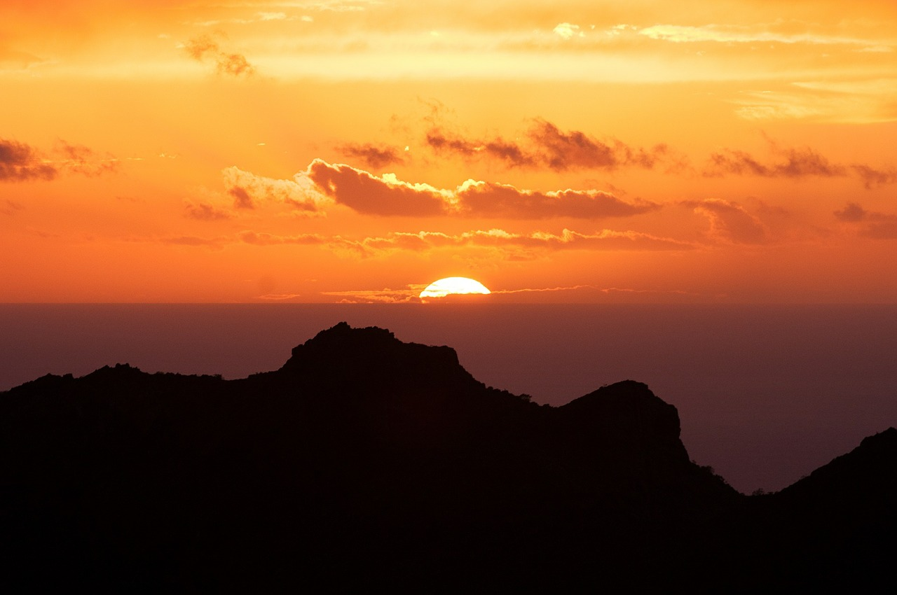 Canary Islands_Sunset in Tenerife_PD