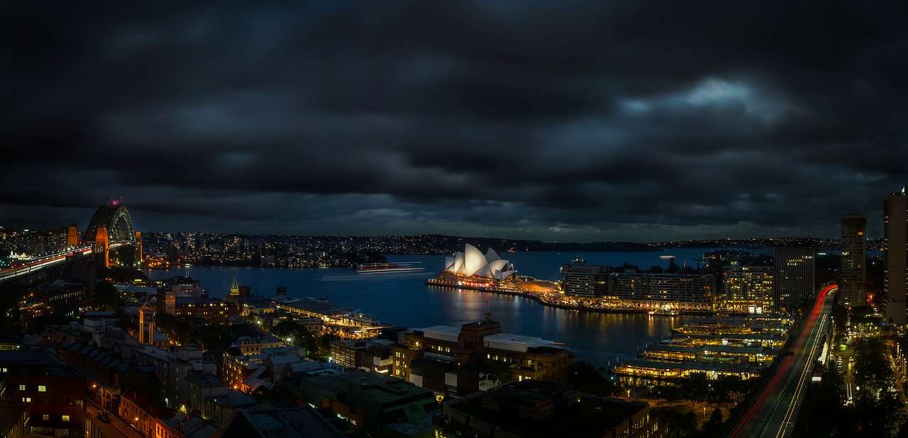 Panoramic view of Sydney city_Australia_PD