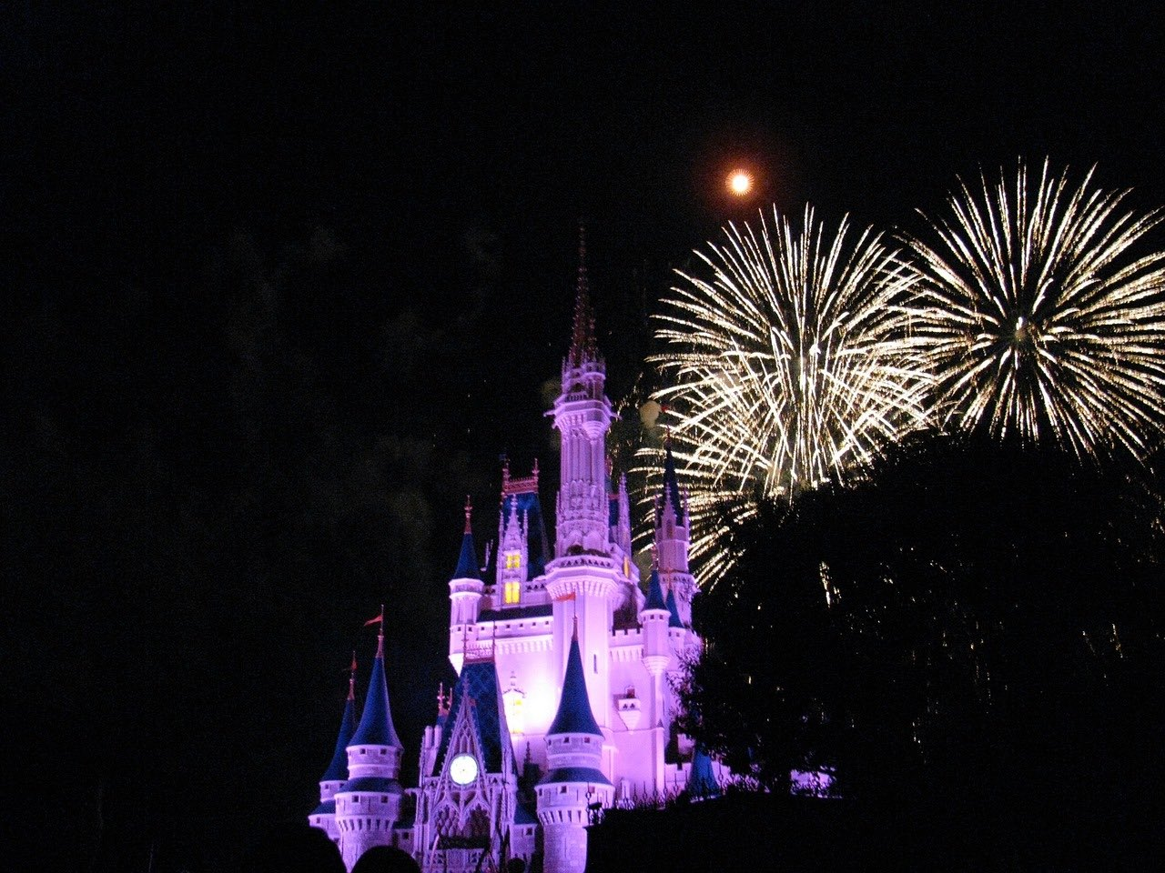 Disney World at Nighttime_PD