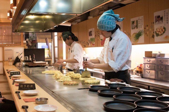 Okonomiyaki pancake_Japan_PD