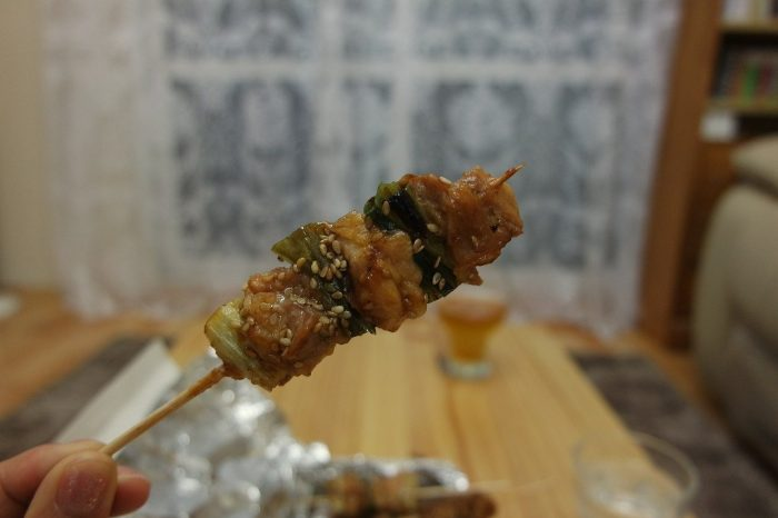 Yakitori grilled chicken_Japan_PD