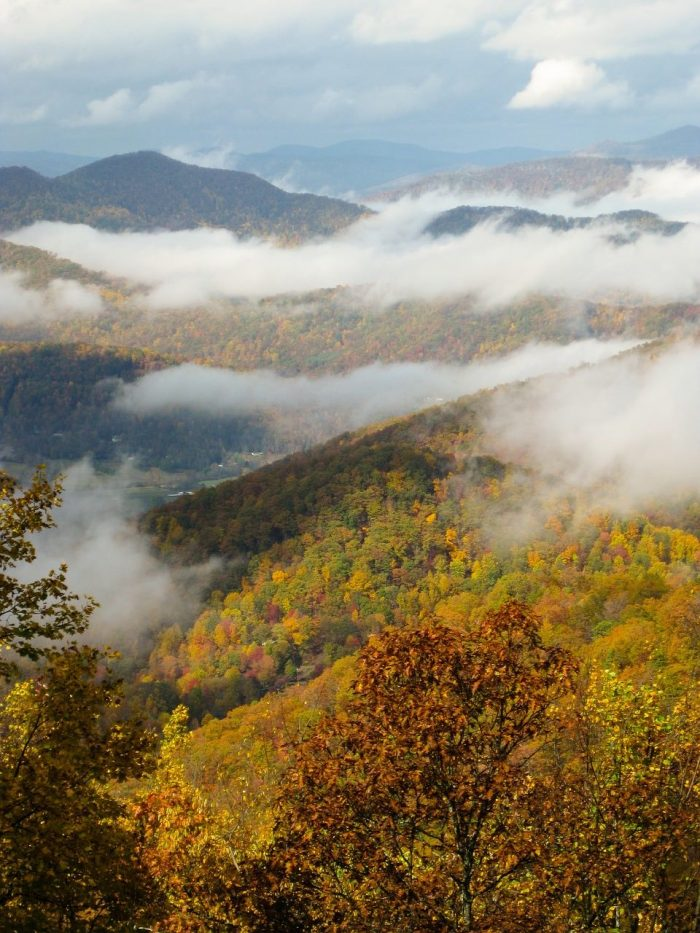 Blue Ridge Parkway Fall Colors_USA_PD