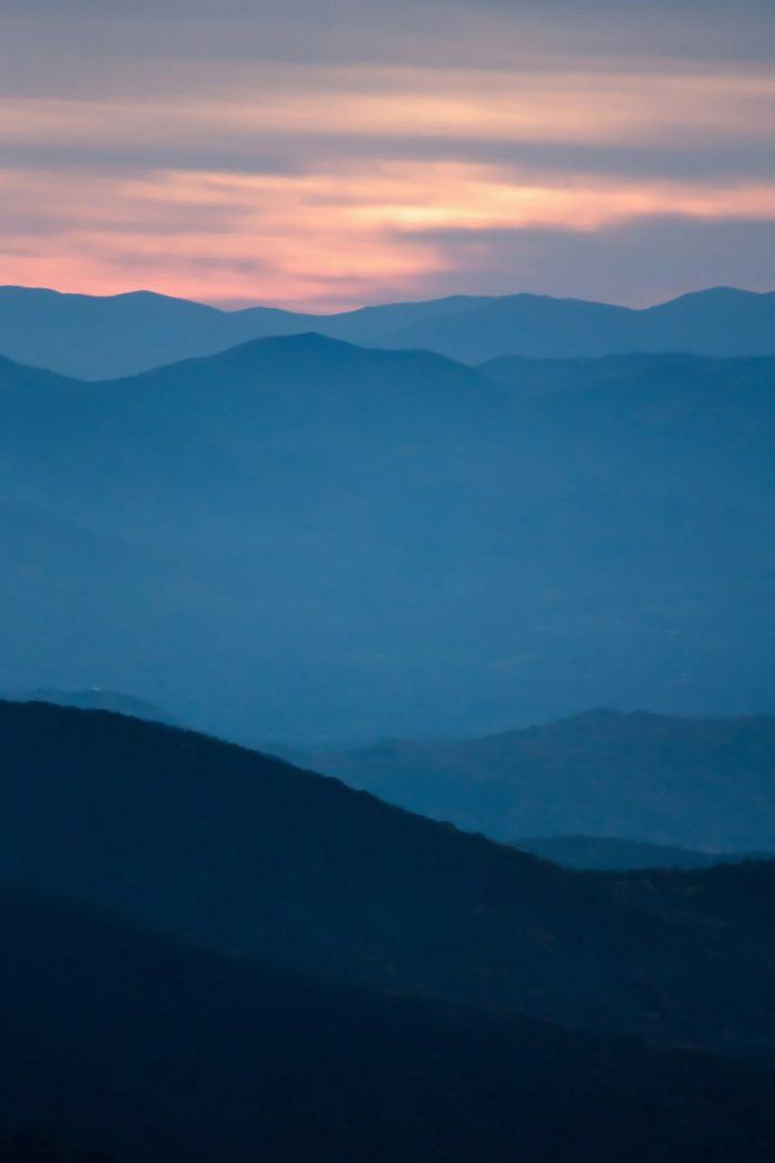Craggy Gardens_Blue Ridge Parkway Sunset View_PD