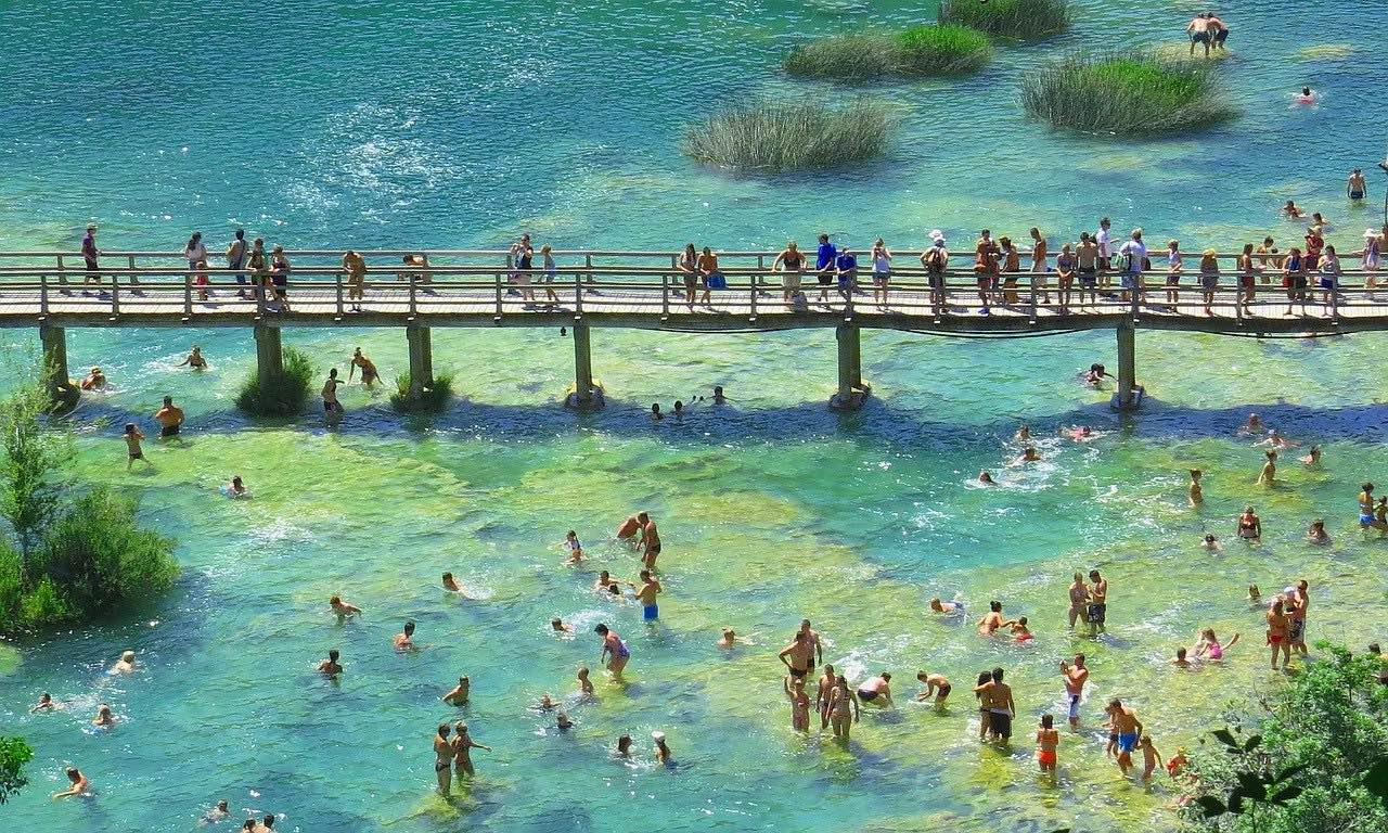 Wood bridge_Krka National Park_Croatia_PD