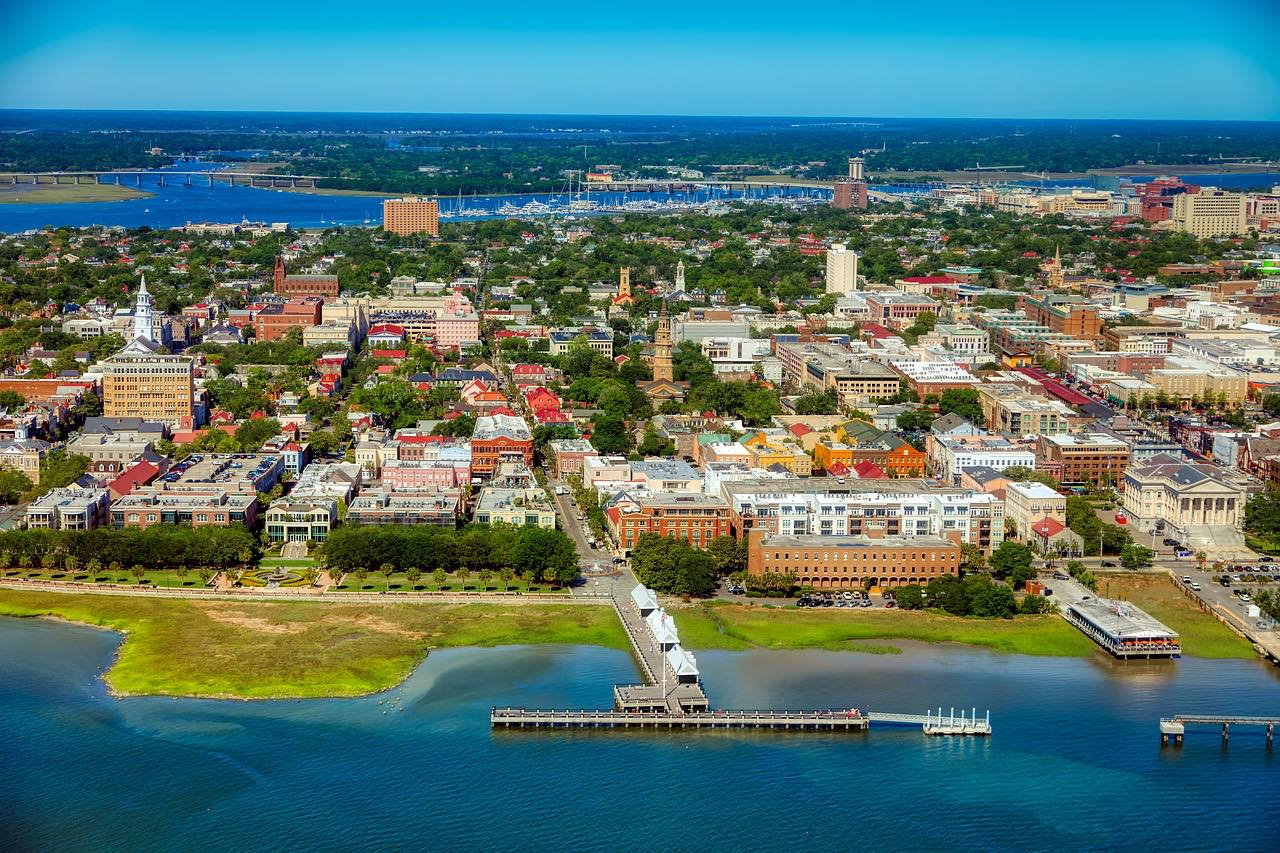 charleston south carolina cityscape_USA_PD