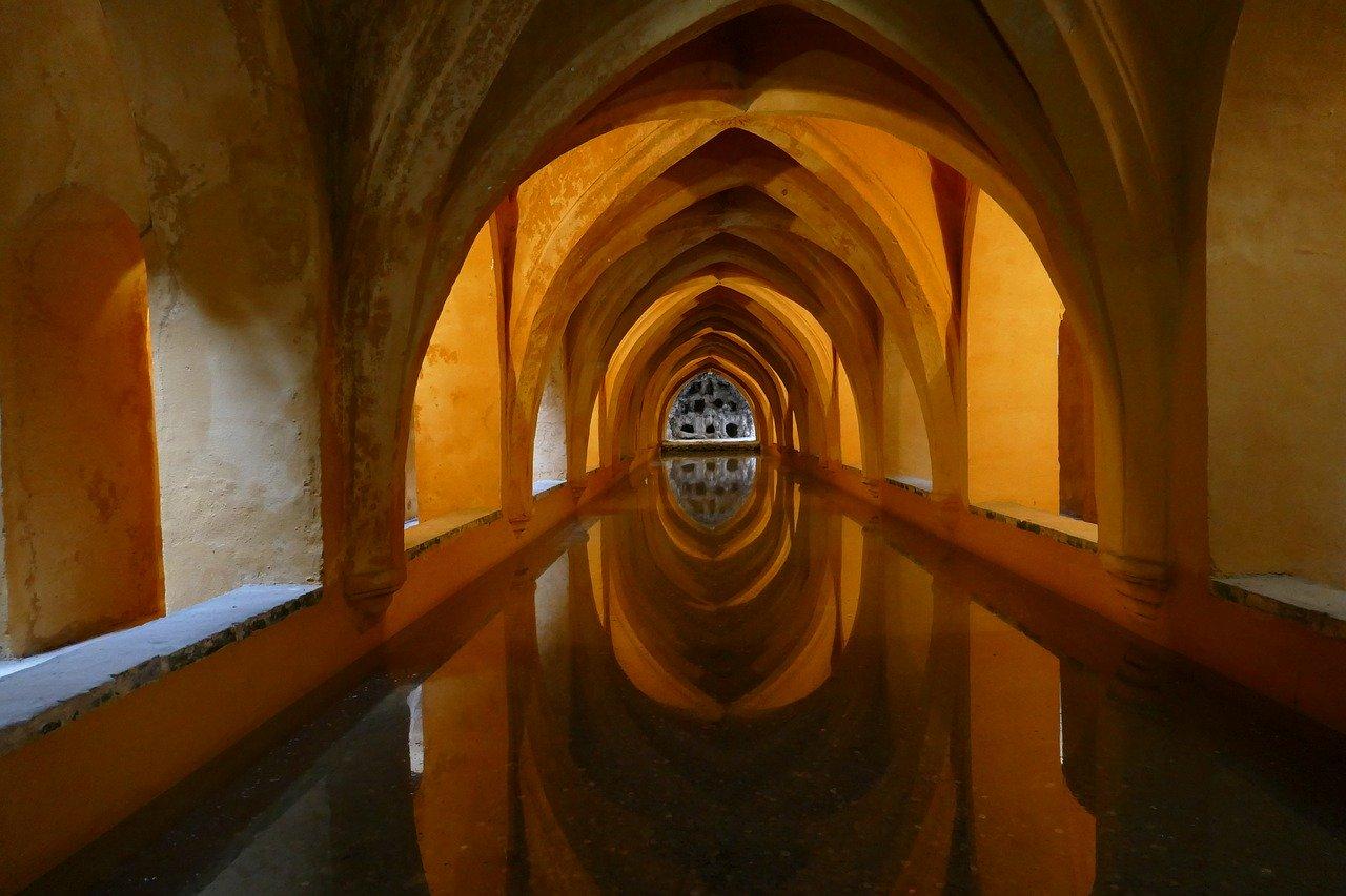 Arab baths_Andalusia_Spain_PD