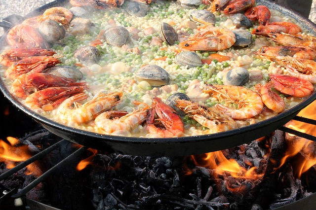 Seafood Paella_Spanish food_PD