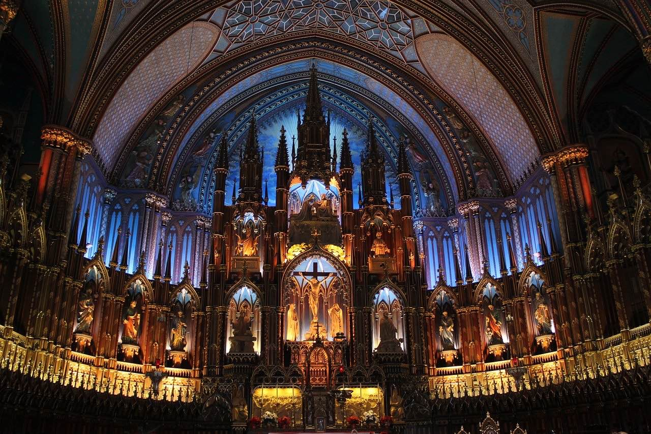 Basilique Notre-Dame de Montreal_Canada_PD