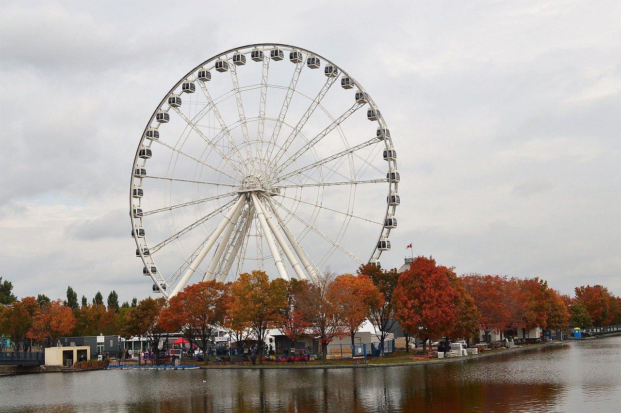 Big Wheel Old Port Montreal_Canada_PD