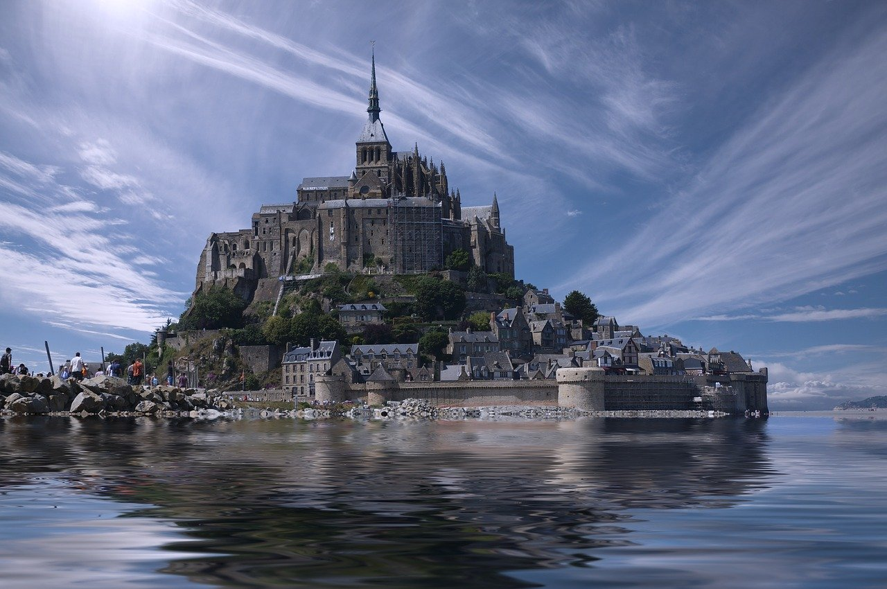 Mont Saint Michel France Europe_PD