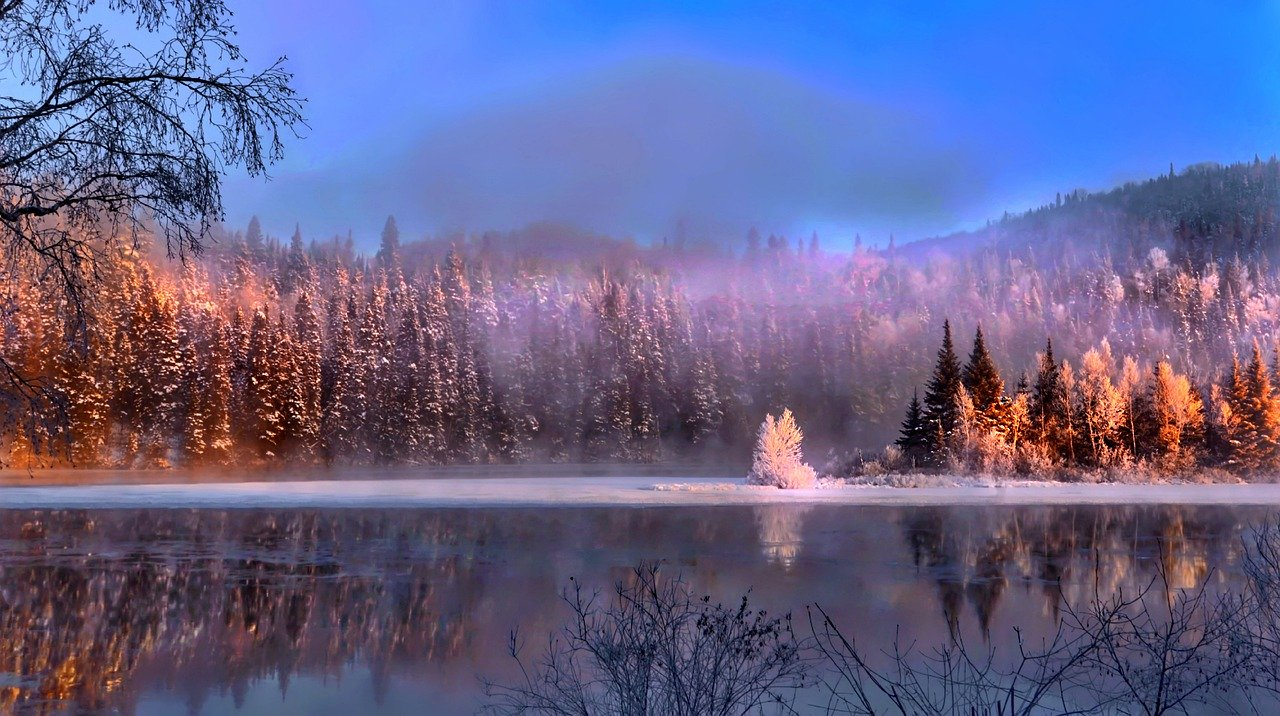 Quebec winter landscape_Canada_PD