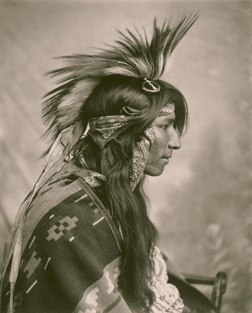First Nation Native Indian_Cree tribe_PD