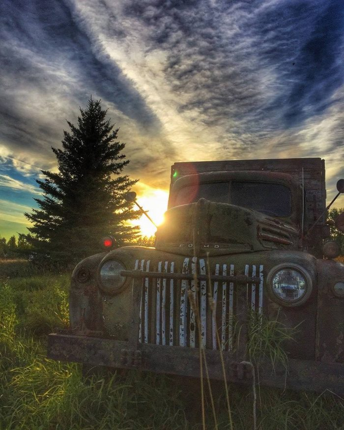 Sunset in Manitoba_Canada_PD