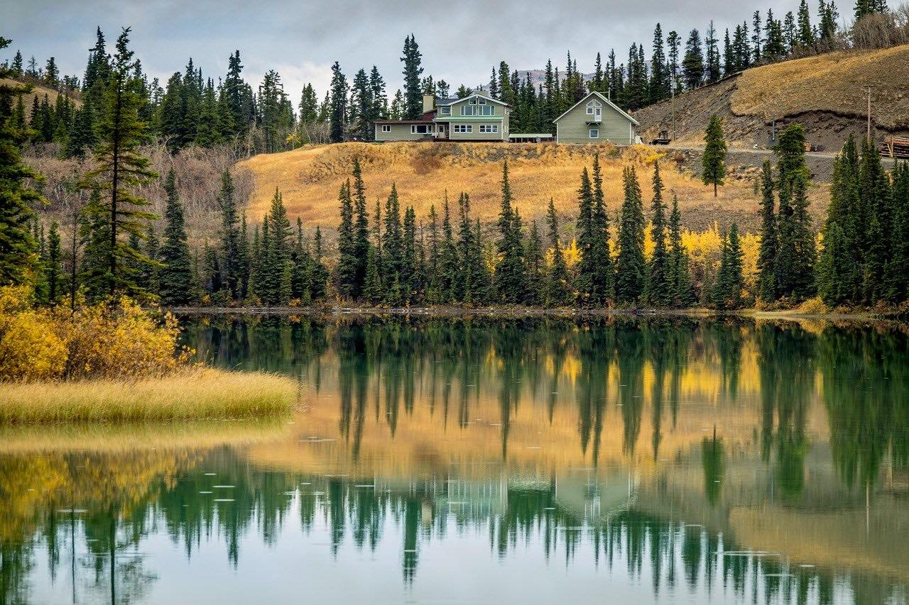 Carcross Lake_Yukon_Canada_PD