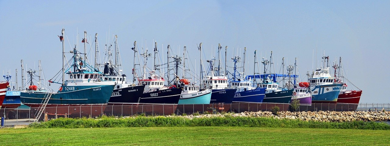Fishing boats in New Brunswick_Canada_PD