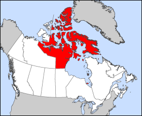 Nunavut map_Wiki_PD